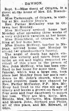 The Ottawa Journal September 11th 1899