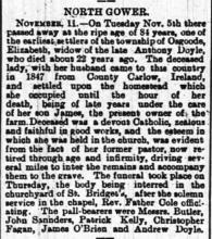 The Ottawa Journal Nov 12th 1889