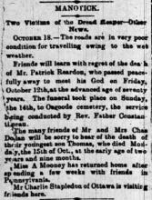 The Ottawa Journal October 19th 1894