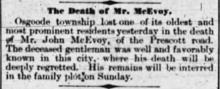 The Ottawa Journal May 28th 1886